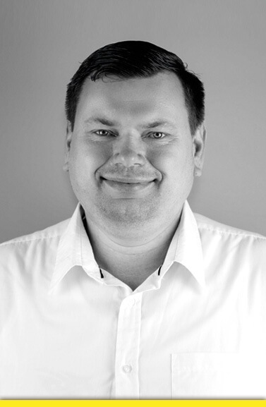 Mitarbeiter Vitali Tinczorwskat RRU GmbH
