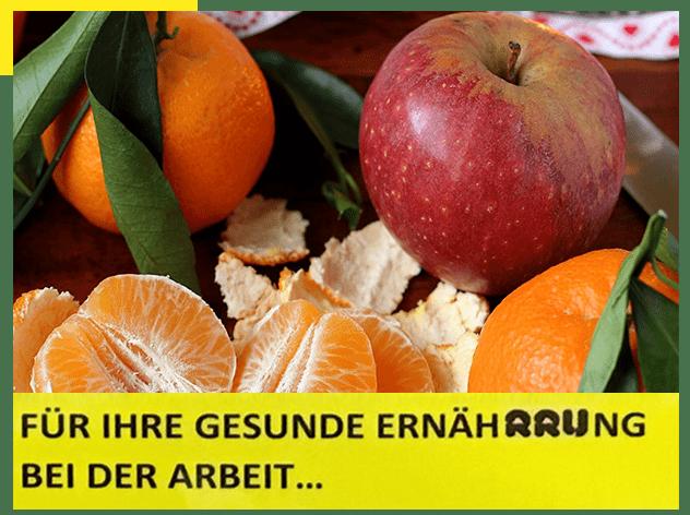 Ernährungsbild mit Äpfeln