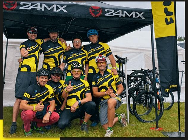 RRU GmbH unterstützt Fahrradteam