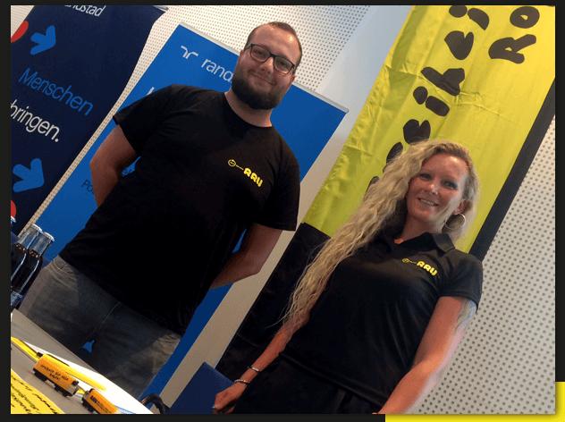 RRU bei der Jobmesse in Chemnitz