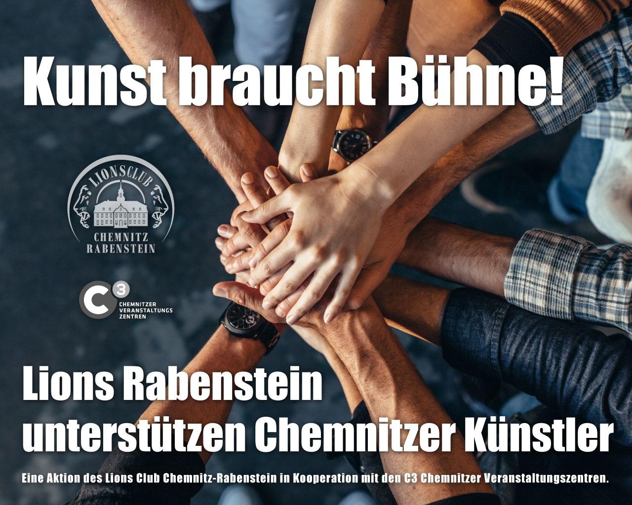 Kunst braucht Bühne - Lionsclub Chemnitz