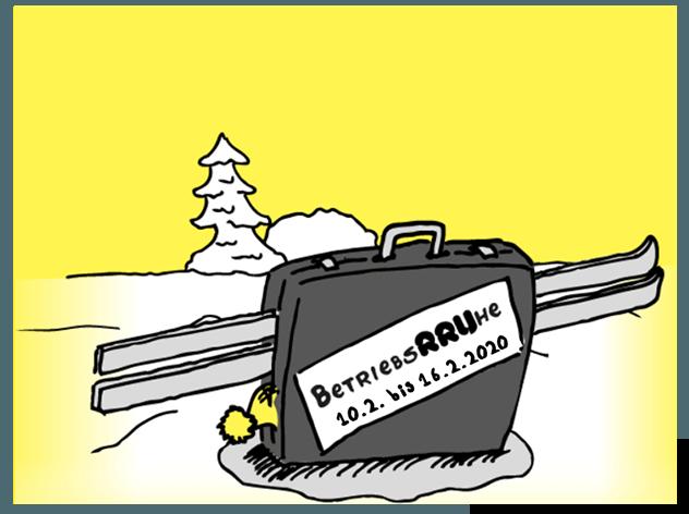 Winterurlaub Bereitschaftszeit 2020
